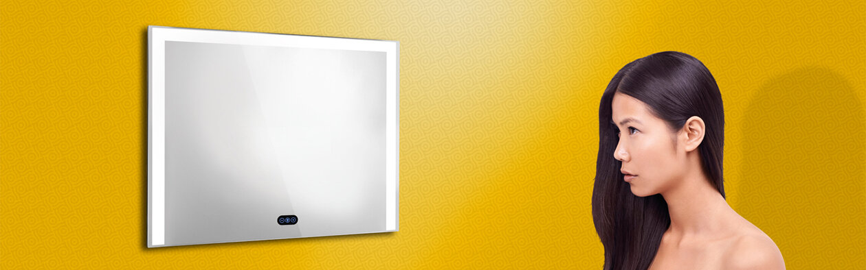 Lighted Mirror Satin